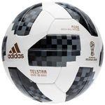 adidas Ballon Coupe du Monde 2018 Telstar 18 Mini - Blanc/Noir/Argenté