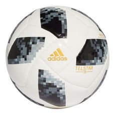 adidas football world cup 2018 telstar 18 sala 5x5 - white/black/silver metallic - footballs