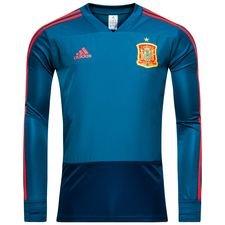 spanien træningstrøje - blå/rød - træningstrøjer