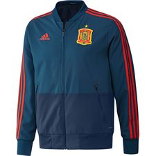 spain jacket presentation - blue/red kids - jackets