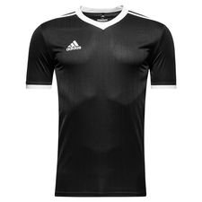 adidas playershirt tabela 18 - black/white - football shirts