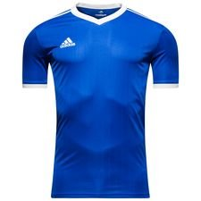 adidas playershirt tabela 18 - bold blue/white - football shirts