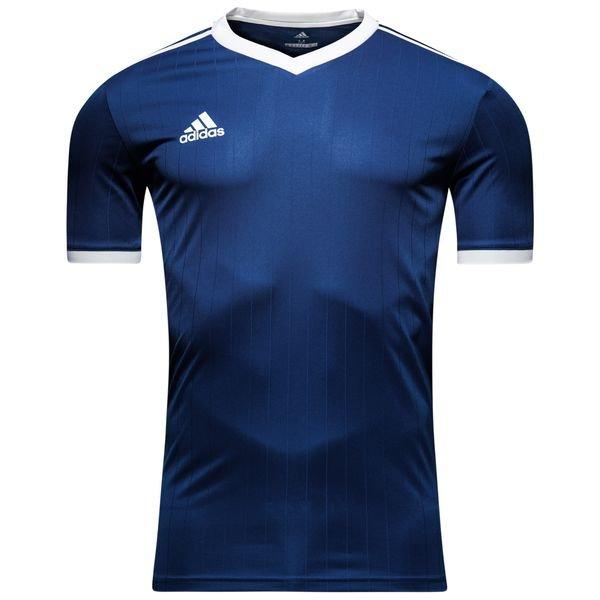 adidas spilletrøje tabela 18 - navy/hvid - fodboldtrøjer