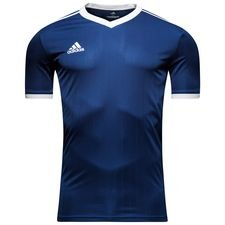 adidas playershirt tabela 18 - dark blue/white - football shirts