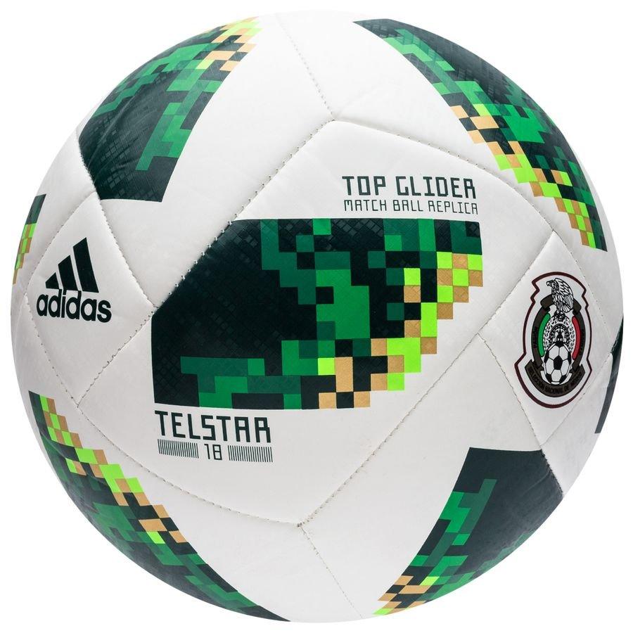 Meksiko Jalkapallo MM 2018 Telstar 18 ValkoinenVihreä