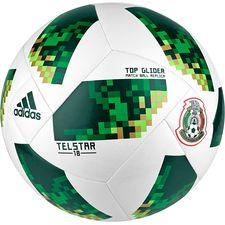 Image of   Mexico Fodbold VM 2018 Telstar 18 - Hvid/Grøn