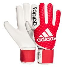 adidas goalkeeper gloves classic pro - real coral/white - goalkeeper gloves