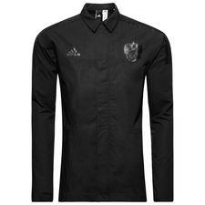 rusland jakke z.n.e. woven - sort - træningsjakke