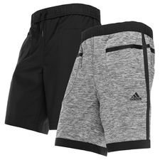 Image of   adidas Træningsshorts Z.N.E. Singled Out Vendbar - Grå/Sort