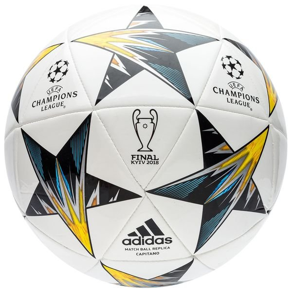 5c96ae2da6b adidas football champions league 2018 finale kiev capitano - white blue yellow  - footballs ...