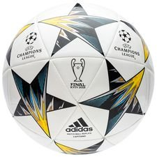 Image of   adidas Fodbold Champions League 2018 Finale Kiev Capitano - Hvid/Blå/Gul