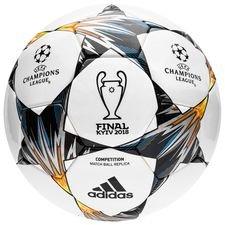 adidas fodbold champions league 2018 finale kiev competition - hvid/blå/gul - fodbolde