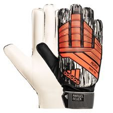 adidas goalkeeper gloves predator young pro manuel neuer - solar red/black kids - goalkeeper gloves