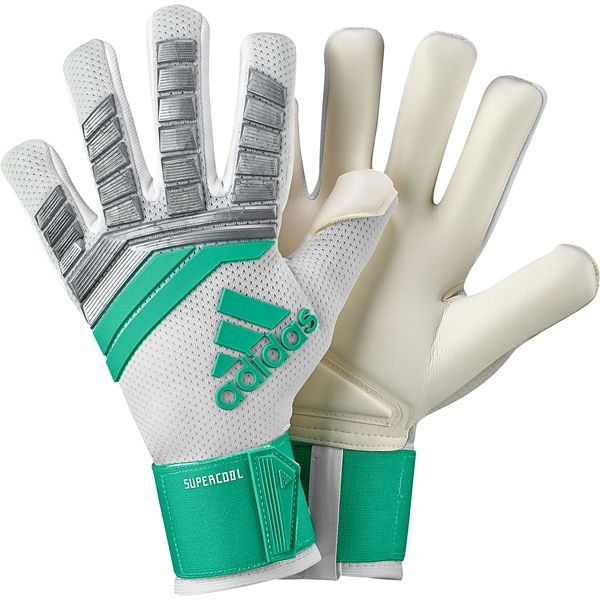 many styles great deals buying new adidas Goalkeeper Gloves Predator Pro Super Cool - Silver Metallic ...