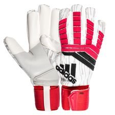 adidas goalkeeper gloves predator trans pro cold blooded - real coral/black/white - goalkeeper gloves