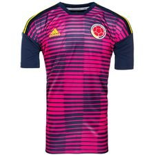 colombia training t-shirt pre match - red/blue - training tops
