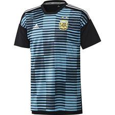 Image of   Argentina Trænings T-Shirt Pre Match - Blå/Sort