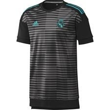 Real Madrid Tränings T-Shirt Pre Match Parley - Svart/Grå Barn