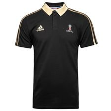 adidas polo emblem world cup 2018 - black/gold - polo shirts