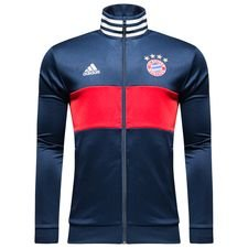 bayern münchen track top 3-stripes - conavy/fcb true red - track tops
