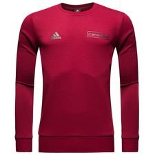 Image of   Bayern München Graphic Crew Sweatshirt - Bordeaux