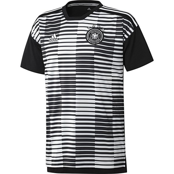 various styles new high quality cheap for sale DFB Deutschland Pre-Match T-Shirt - Schwarz/Weiß Kinder