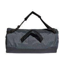 adidas sportstaske duffel predator 18.2 skystalker - grå/sort - tasker