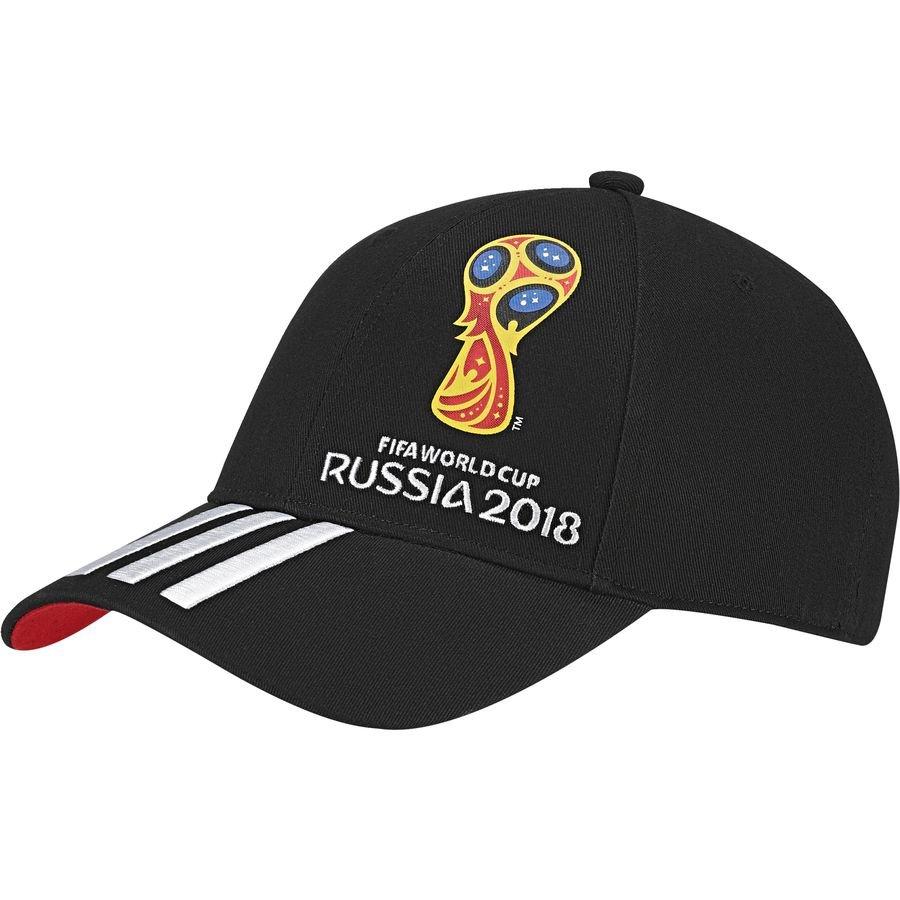 adidas Kasket Emblem VM 2018 - Sort/Rød/Hvid