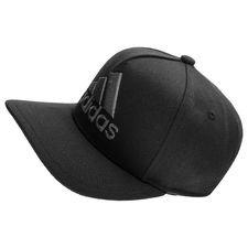 adidas snapback logo h90 - sort/grå - kasket
