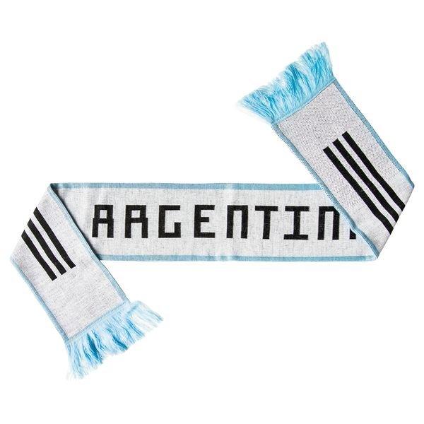 argentinien fanschal - weiß/blau/schwarz - schal