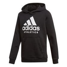 adidas hoodie sid - black/white kids - hoodies