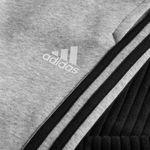 adidas træningsbukser fleece sid - grå/sort børn - træningsbukser