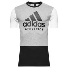 adidas t-shirt sid - grey/black/white kids - t-shirts