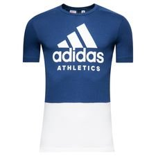 adidas t-shirt sid - noble indigo/white kids - t-shirts