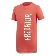 adidas t-shirt predator cold blooded - rød/hvid børn - t-shirts