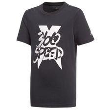 adidas t-shirt x 360 - sort/hvid børn - t-shirts