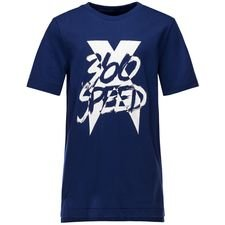 Image of   adidas T-Shirt X 360 - Blå/Hvid Børn