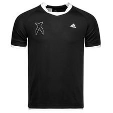 adidas training t-shirt x - black/white kids - training tops