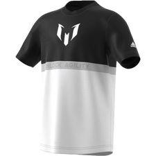 Image of   adidas T-Shirt Messi - Sort/Hvid Børn