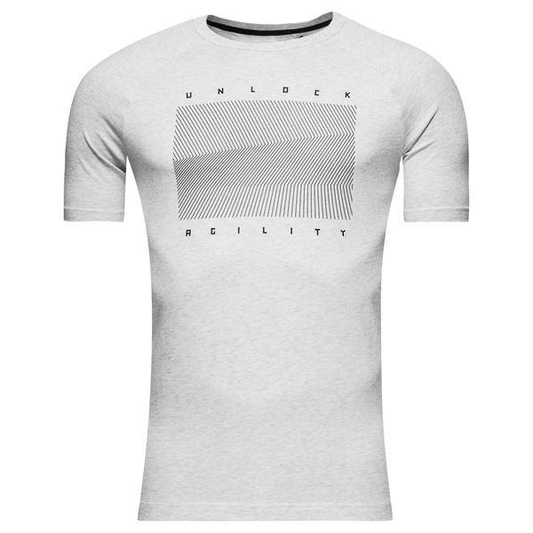 adidas t-shirt nemeziz - weiß/schwarz kinder - t-shirts