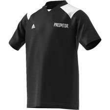 adidas training t-shirt predator - black/white kids - training tops