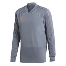 adidas training shirt condivo 18 - onix/orange kids - training tops