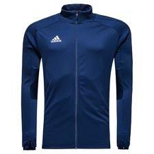 adidas træningsjakke condivo 18 - navy/hvid - træningsjakke