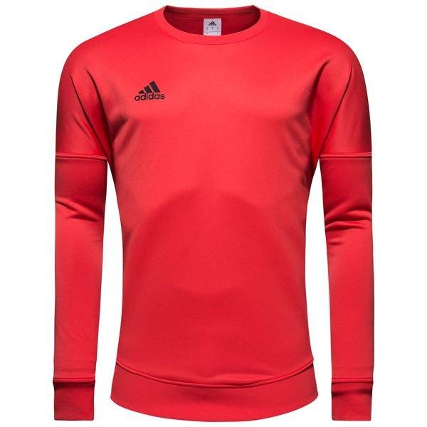 adidas sweatshirt tango cold blooded - rød - sweatshirts