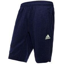 adidas shorts tango deadly strike - blå - træningsshorts