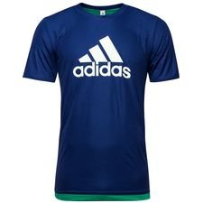 adidas t-shirt deadly strike - blå - t-shirts