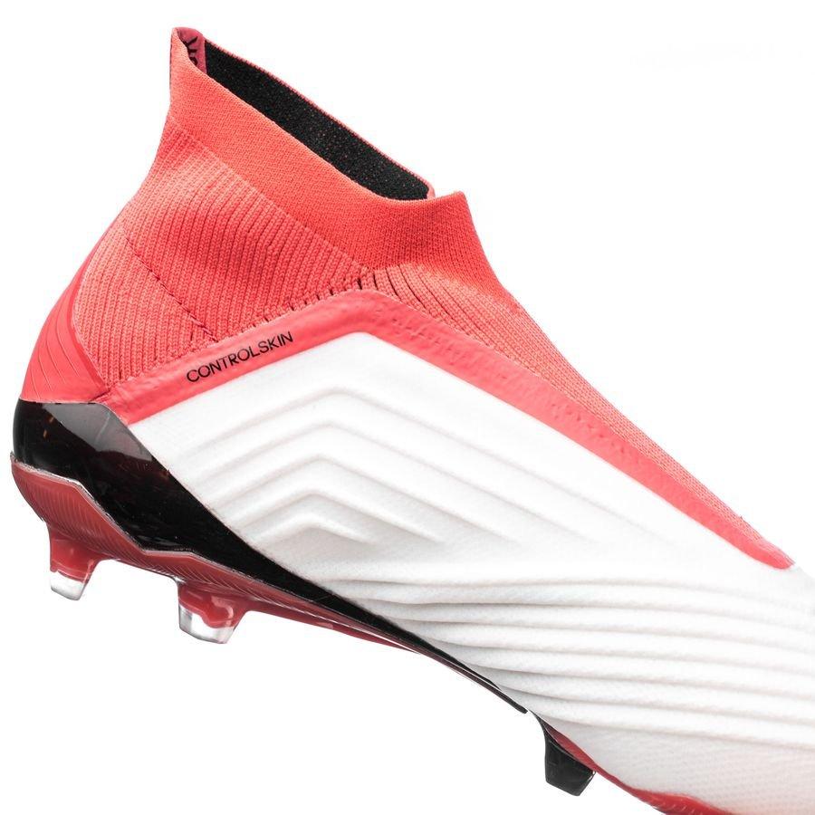 uk availability 32f47 6a30b adidas predator 18+ fgag cold blooded - weißschwarzrot -