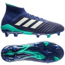 adidas Predator 18.1 FG/AG Deadly Strike - Bleu/Vert/Bleu