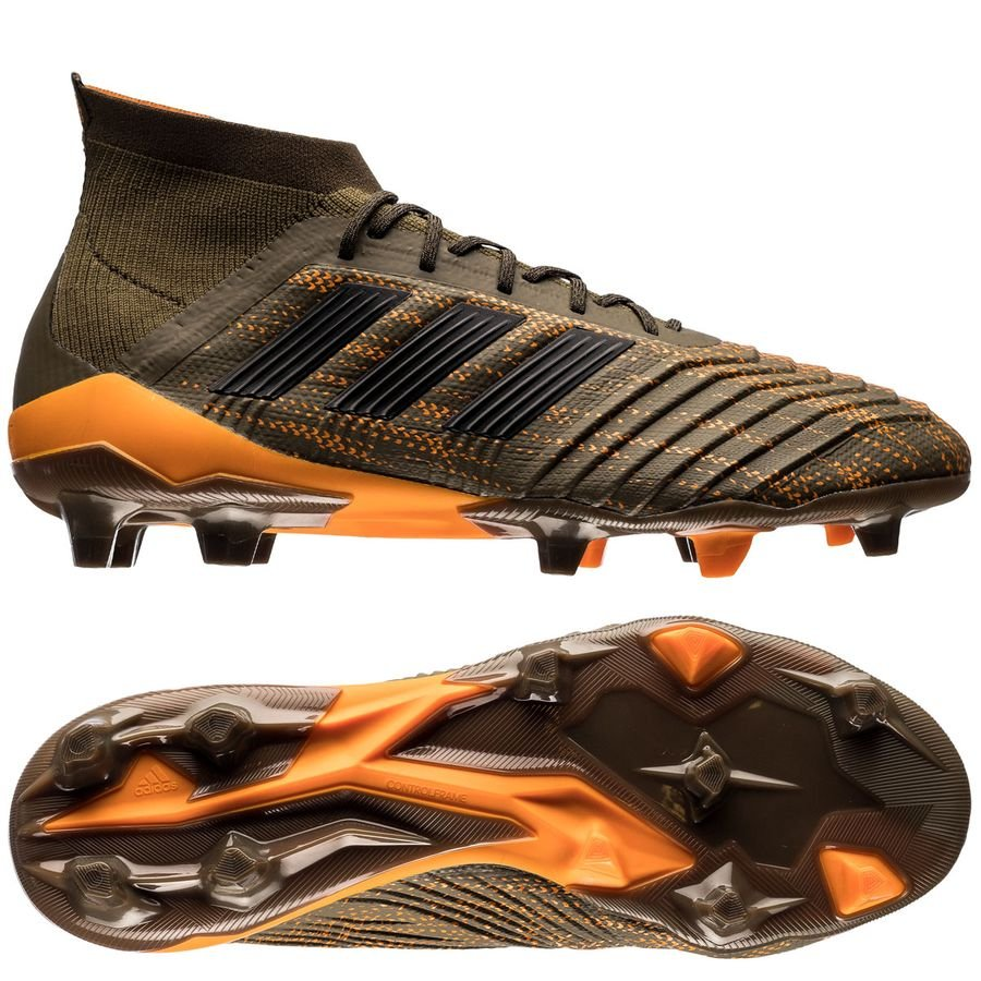separation shoes 02ed5 9c420 adidas predator 18.1 fg ag lone hunter - trace olive core black bright ...