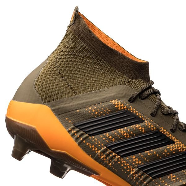 f37c1b79f9 ... adidas predator 18.1 fg ag lone hunter - grønn sort oransje - fotballsko  ...